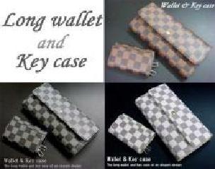 403833ee8f7e 9379923 新品ブロックチェック柄ボタン長財布&キーケースセット(ノー ...