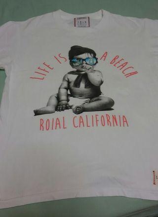 ロイヤル プリントTシャツ