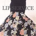 LIP SERVICEスカラカットフラワーワンピース