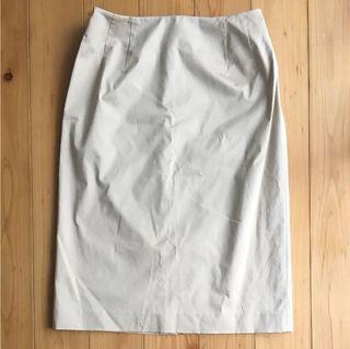 美品【INED】ひざ丈スカート