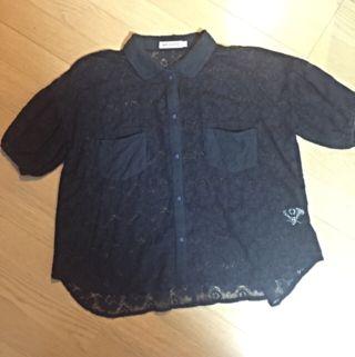 MILKFEDレースシャツ