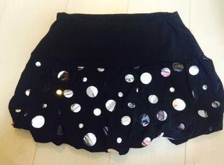 水玉  ミニスカート
