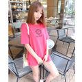 Radyフレームrady Tシャツ ピンク ビッグTシャツ