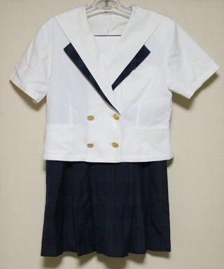 高校女子制服 夏服&スカート(クリーニング済)