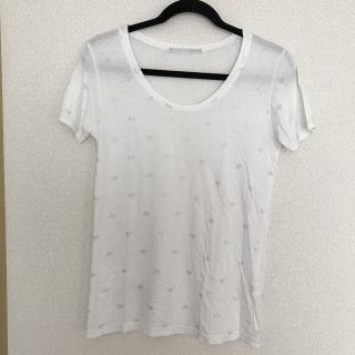 Heatherハート柄Tシャツ
