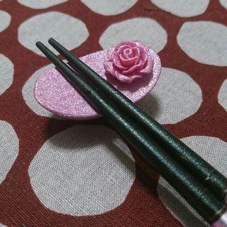 春いろ乙女色 薔薇の箸置き