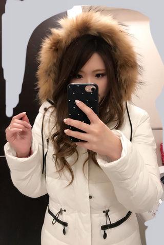 モンクレール♡ダウンコート♡ホワイト