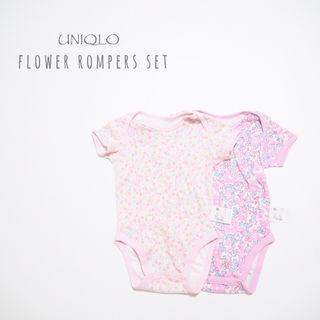 【UNIQLO】ロンパースセット