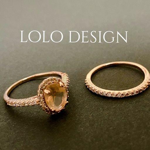 新作指輪2個セットピンクゴールド リングペアリング