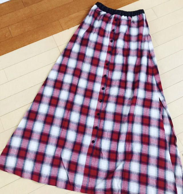 GYDA串戸ユリアさん2wayロングスカート