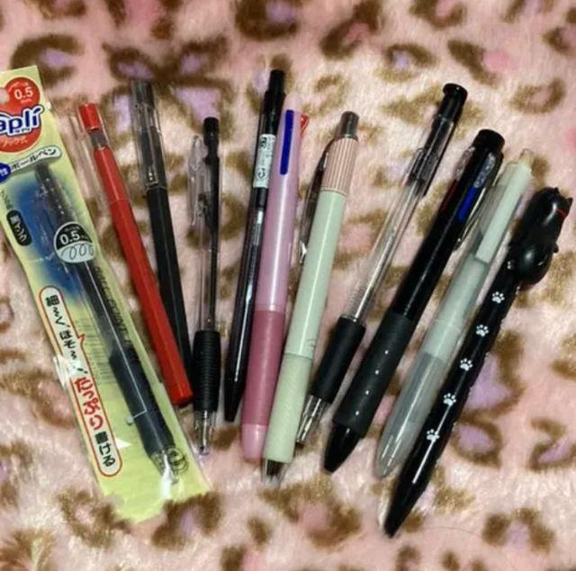 ボールペン 色々 11本セット 黒、赤 美品 まとめ売り