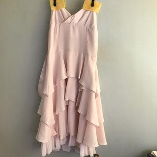 Dear Princess結婚式にベビーピンクのドレス