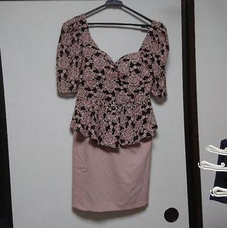 五分袖 ナイトドレス