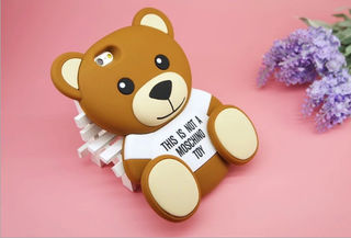 moschino iphoneケース 可愛 小熊