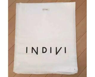 (送料無料) INDIVIショップ袋3枚
