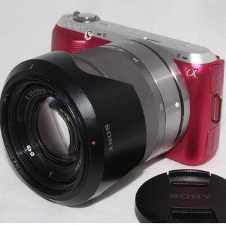 桜の様に可愛いピンク色SONY NEX-C3