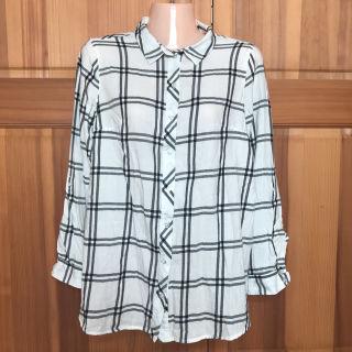 H&M エイチアンドエム  チェックシャツ