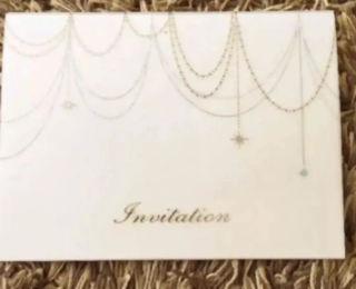 結婚式招待状6P
