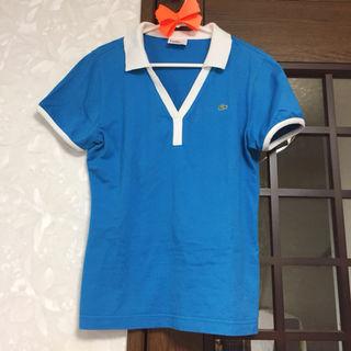 *【美品】LACOSTE 鮮やかなポロシャツ*