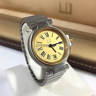 鑑定済み正規品 ダンヒルミレニアム腕時計