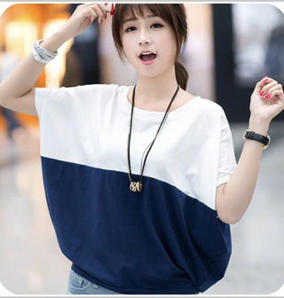 ドルマン、Tシャツ (紺色)
