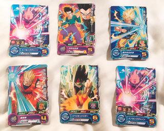 スーパードラゴンボールヒーローズ6枚SETセット