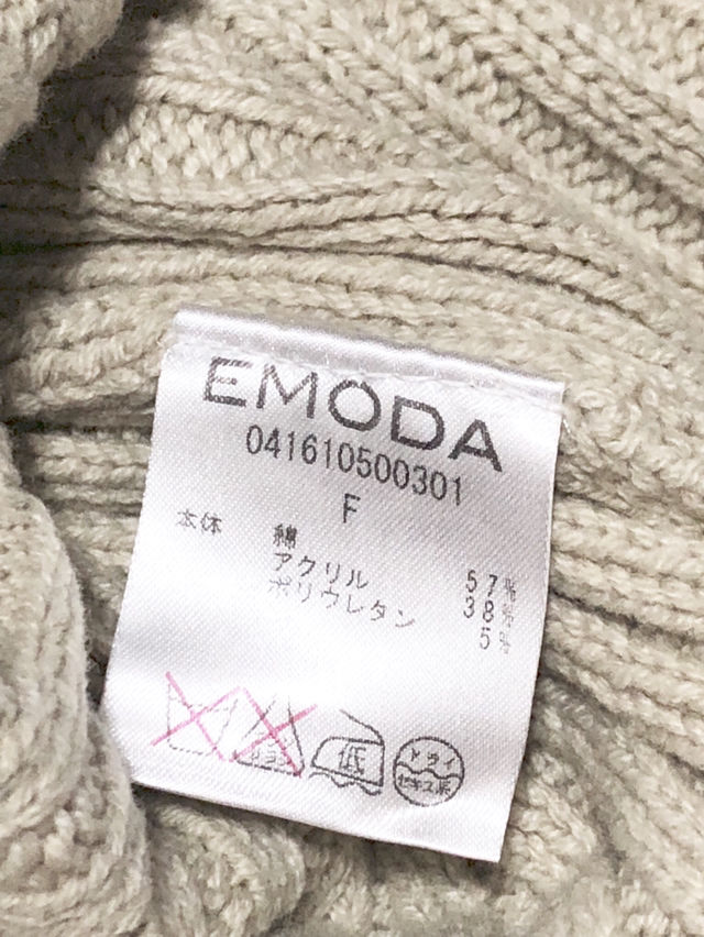 EMODA/BOY FRIEND KNITワンピ