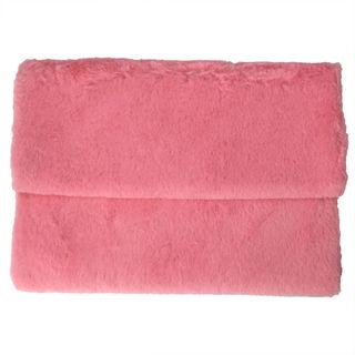 ファークラッチバッグ レディース ピンク