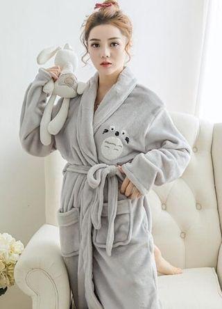 秋冬ネグリジェ  となりのトトロ 可愛い パジャマ