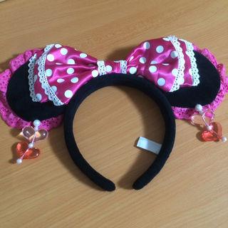 ミニーマウス* カチューシャ ピンク