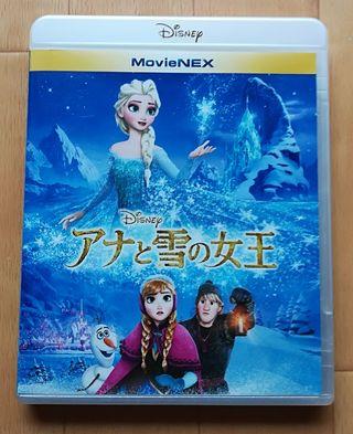 Blu-ray  ディズニー  アナと雪の女王