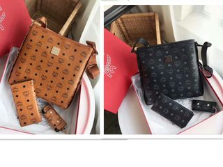 国内発送 メンズショルダーバッグ+長財布+キーケース