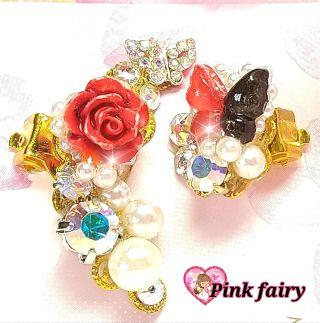 新作Pinkfairy*.+イヤーカフセット(D)