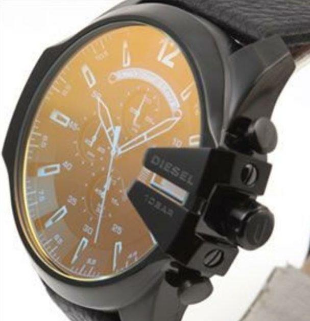 ディーゼル DIESELメンズレザー腕時計 DZ4323