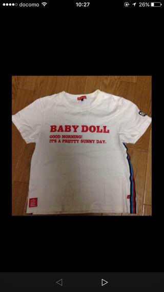 ベビードールのTシャツ!