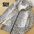 美品 1 SLY スライ レオパード柄パーカージャケット