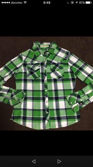 ブルームーンのチェックシャツ!