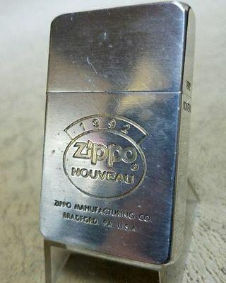 超希少ZIPPO1992NOUVEAUファーストレプリカ