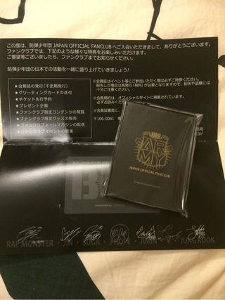 BTS 非売品 ミラー プリントサイン