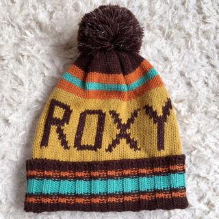 【新品未使用】ROXYロキシーニット帽