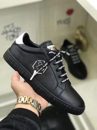 フィリッププレイン人気新品メンズスニーカー紳士ローファー靴