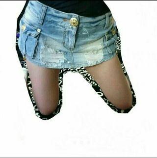 GARULA デニムショーパン スカート