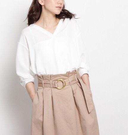 定価4,309円opaque スキッパーシャツ