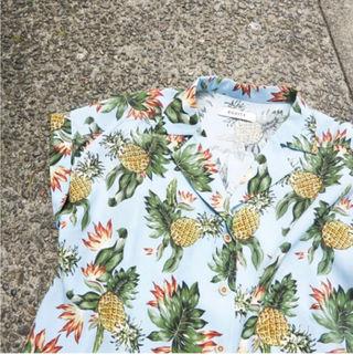 EGOIST パイナップル柄シャツ