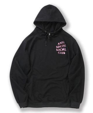 anti social clubパーカー  an-04