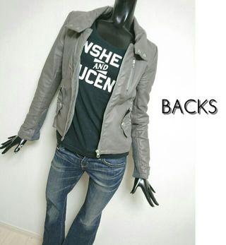 BACKS*ライダースジャケット