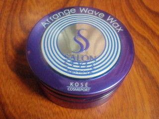 サロンスタイルヘアワックス