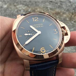 人気腕時計 パネライ 自動巻き 直経43mm