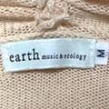 アースミュージック&エコロジーレース襟のカーディガン