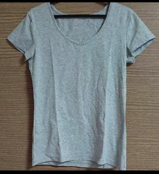 シンプル Tシャツ グレー